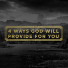 FOUR WAYS GOD WILL PROVIDE FOR YOU - DVD